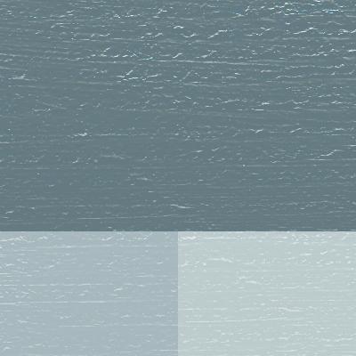 Öjablå linoljefärg