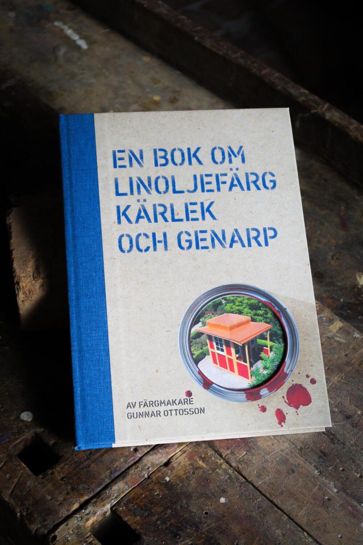 En bok om linoljefärg